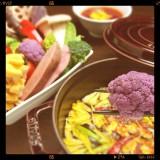 野菜たっぷり薬膳鍋